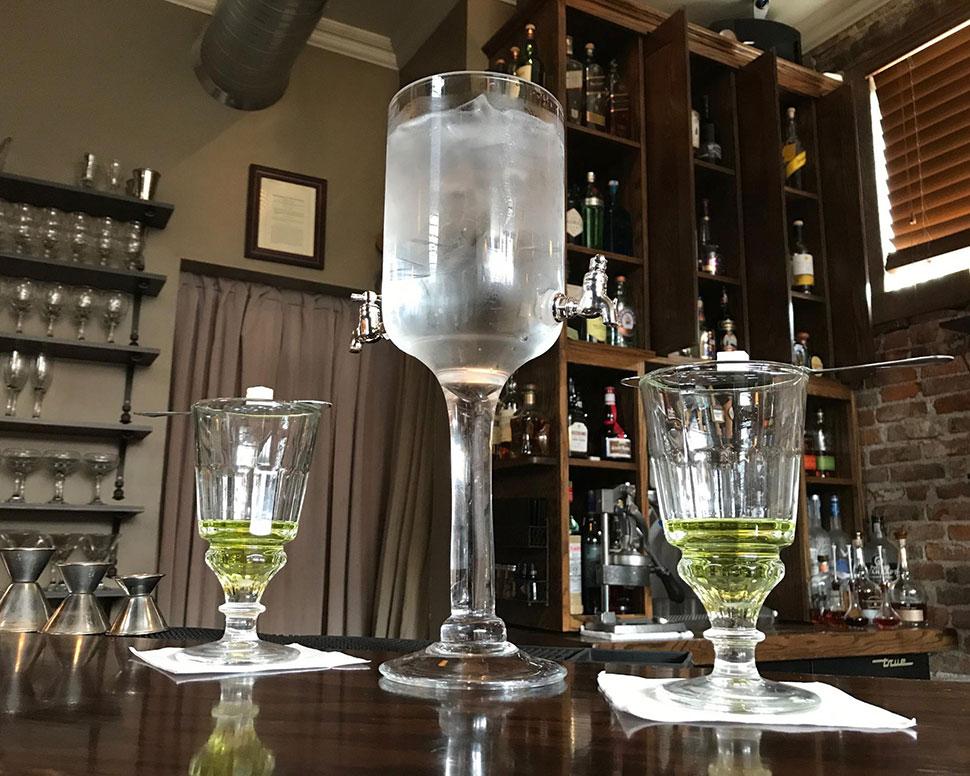 Volstead Bar & Speakeasy Absinthe Rinse