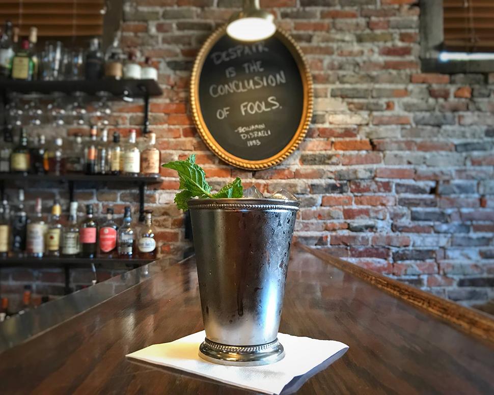 Volstead Bar Mint Julep Cocktail