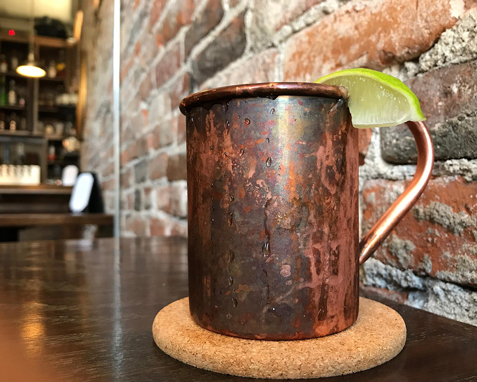 Volstead Bar Moscow Mule Cocktail