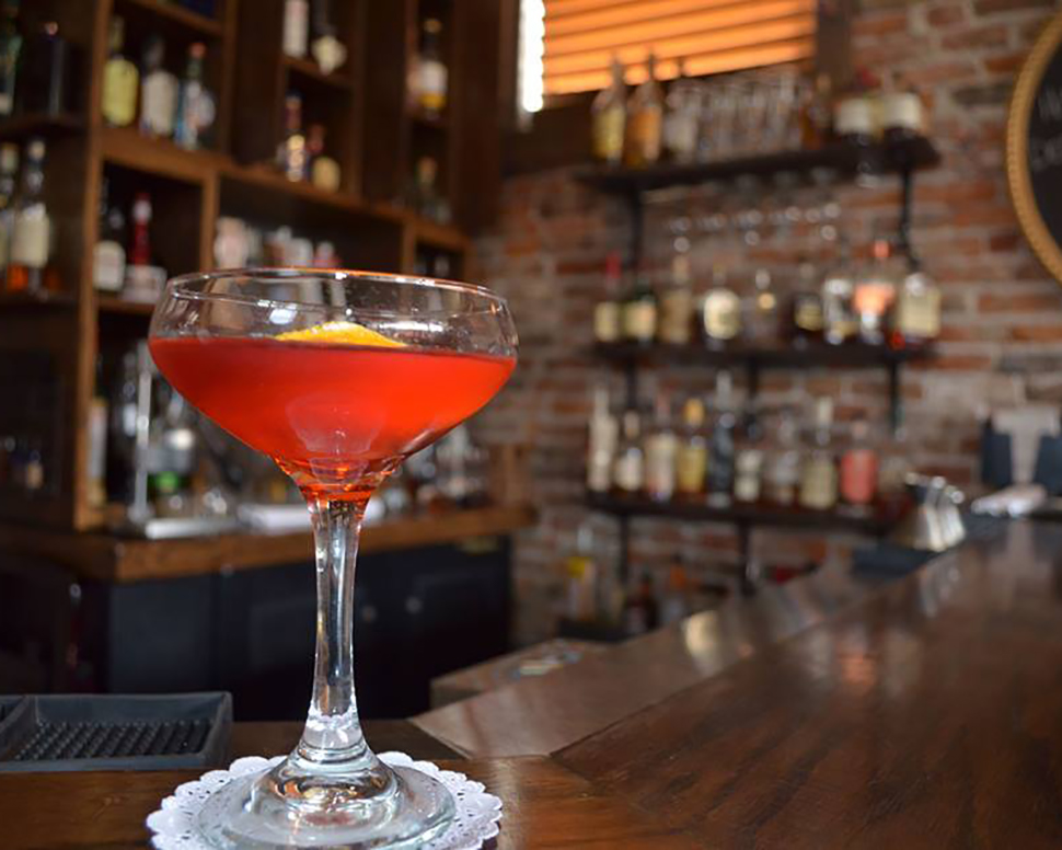 Volstead Bar Negroni Cocktail