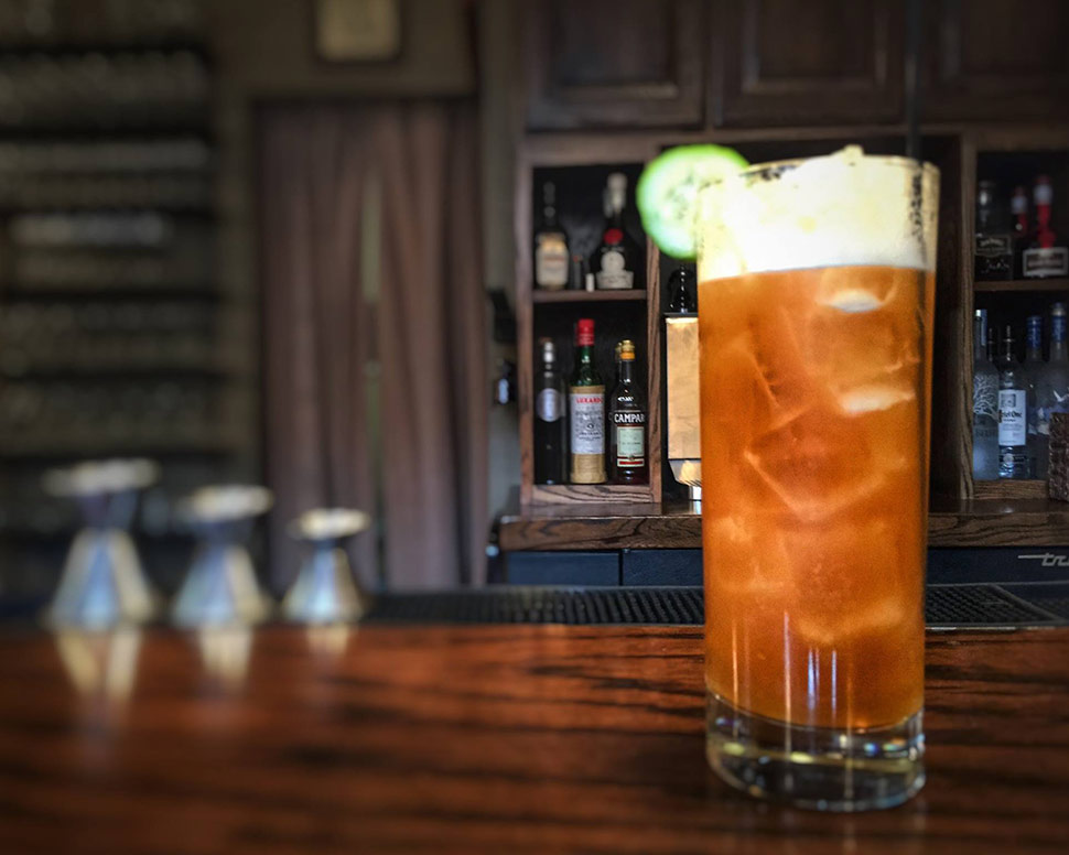 Volstead Bar & Speakeasy Pimm's Cup