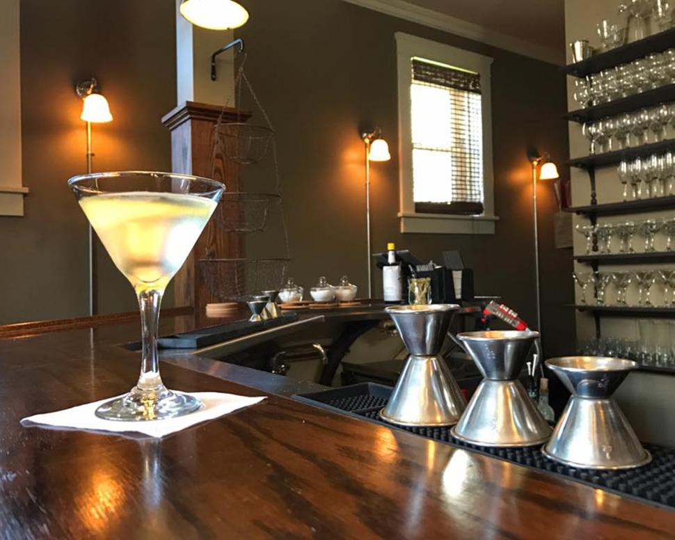 Volstead Bar Vesper Martini