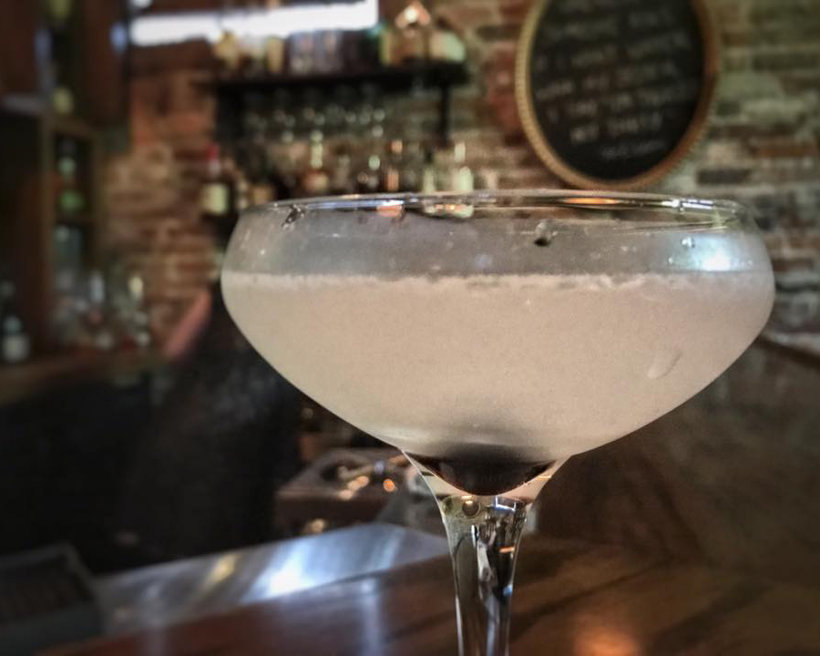 Volstead Bar Sandusky Ohio Aviation Cocktail