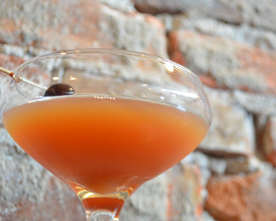 Volstead Bar Blood and Sand Cocktail