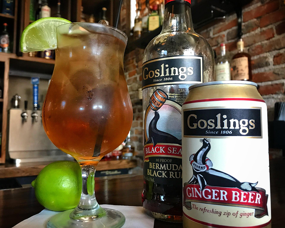 Volstead Bar Dark n' Stormy Cocktail