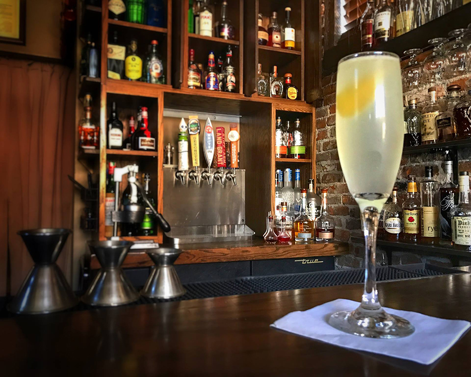 Volstead Bar French 75 Cocktail