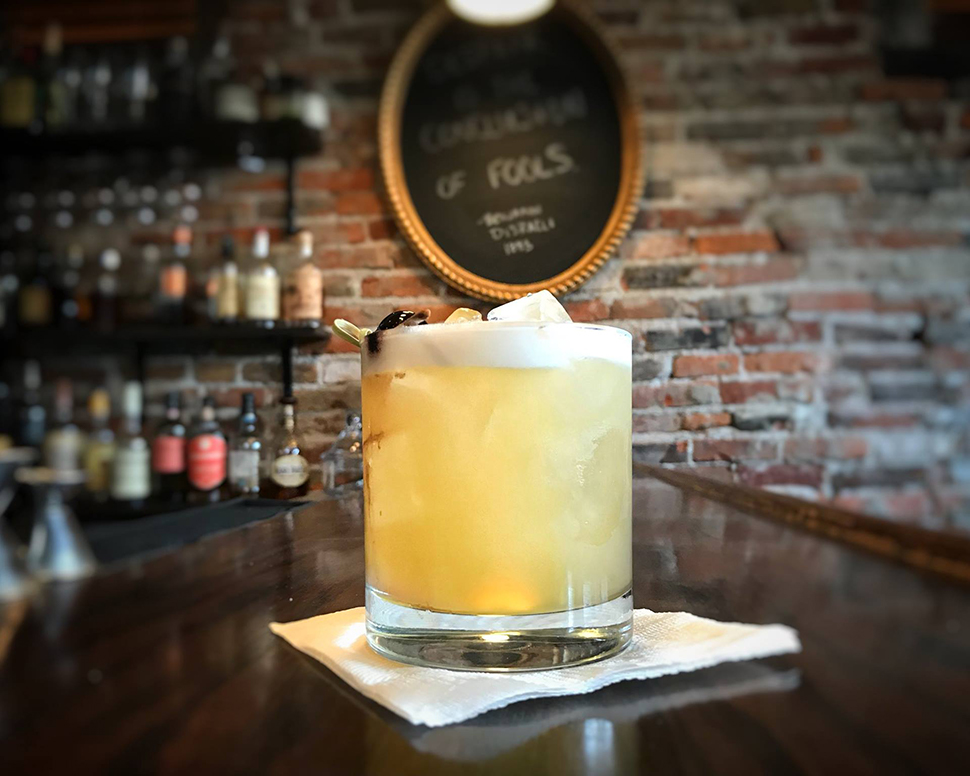 Volstead Bar Sandusky Ohio Whiskey Sour