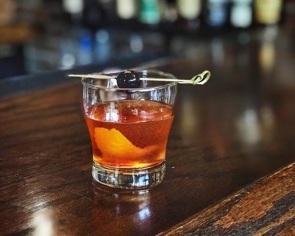 Volstead Bar Cocktail Old Fashioned